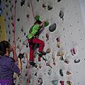 20160109【全職媽媽遛小孩-190】小猴王兒童攀岩體驗 IN B-Plus攀岩館