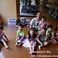 20161013【全職媽媽遛小孩-241】大家一起來聽故事、玩Lasy積木