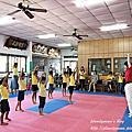 20181016、27【全職媽媽遛小孩-376、379】跆拳道體驗 in 原動力跆拳道館