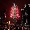 2013台北101跨年煙火