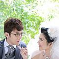 Brain & juju的婚紗照