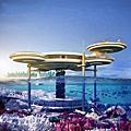 杜拜的海底旅館Water Discus Hotel