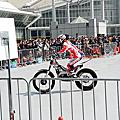 技術摩托車表演