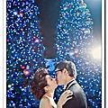 國外婚禮 香港的耶誕節的夜