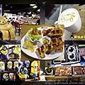 片場咖啡 可愛超級英雄圍繞 小小兵公仔、娃娃布偶置身拍片現場 不限時有WIFI鹹食鬆餅第一名好咖啡店!