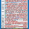 2017年07月行程表
