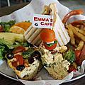 台中早午餐 Emma's cafe。
