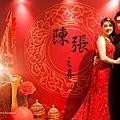【婚禮佈置】祥彩飄 ‧ 姻滿紅