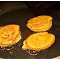 帕達諾乳酪煎餅佐番茄沙拉
