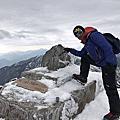 雪攀玉山2017年3月