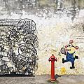 喬治市壁畫街