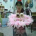 2007年3月22日送小如金莎花