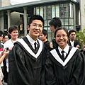 2007年4月10日拍團體學士照