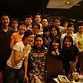 2007年5月9日跟屏科大應外美女們聚餐