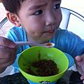 親子食堂~黑糖桂圓米糕粥