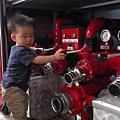消防隊一日體驗(比baby boss還好玩)