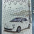 150片迷你拼圖NEW FIAT500