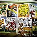 太空超人迷你漫畫-THE OBELISK Mini Comic 1984
