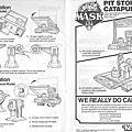 神龍特攻隊M.A.S.K_Pit Stop Catapult(維修站)
