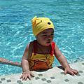 第一次游泳