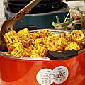 2011/8/28新光三越南西店  中秋無油煙烤肉餐示範