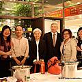 2010/10/18  瑞士總裁蒞臨台中新光三越/CC老師料理秀