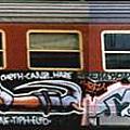 電車塗鴉*1