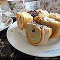 下午茶-爆漿紅豆餅