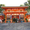 京都--八坂神社 、 祇園 、知恩院