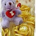 2009西洋情人節金莎花束