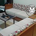 Microfibres-高雄市苓雅區自強三路李先生沙發椅套沙發海綿定製