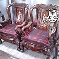 其他布料-高雄市苓雅區民生路中式沙發椅墊椅套定製