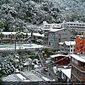 東埔溫泉下雪囉