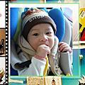 宗翰8-10個月的成長相片