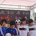 2008/5/16阿本出席adidas拍就隊行動