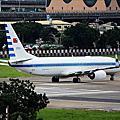 松山機場拍飛機
