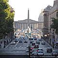 法國巴黎香榭麗舍凱旋門瑪德蓮