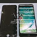 iPhone 7 Plus 耀石黑 螢幕總成維修