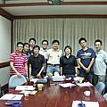 20080905(陳老師邀聚餐、輝學長演講與資社所新生座談)