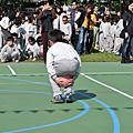 小猴子第一次參加國小運動會