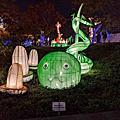 台中文心公園 戽斗星球燈會