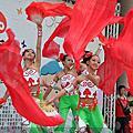 參加台中社區文化季遊行-唯孔不亂