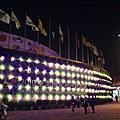 台北國際花博園山區夜景