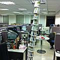 20110112 泡麵塔