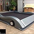 皮革訂製跑車王子床