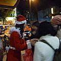 [活動] 20091221 石牌捷運發聖誕糖果