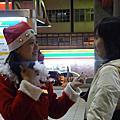 [活動] 20091222 芝山捷運站發聖誕糖果