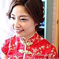 【380場】vivian新娘文定(典雅鮮花、知性、歐式鮮花、可愛甜美)