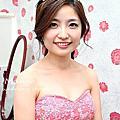【384場】vivian新娘結婚(簡約、時尚、甜美、浪漫鮮花花圈)
