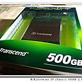 創見StoreJet 25 Classic 500GB 2.5吋行動硬碟